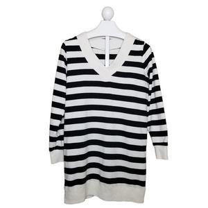 Z Supply V-Neck Striped Pullover Tunic XL